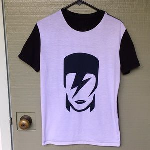 VINTAGE David Bowie Shirt SIZE SMALL